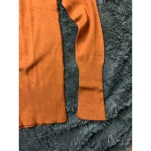 clockhouse Sweaters - Orange turtleneck